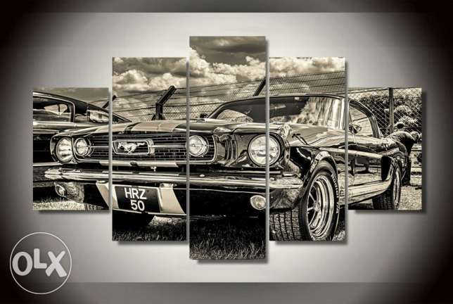 1967 ford mustang painting high quality