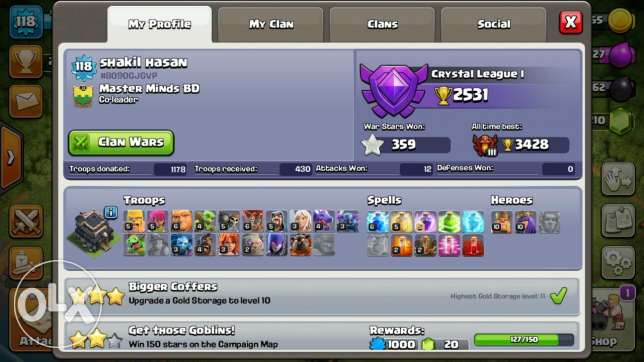 Th9 clansh of clan coc