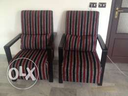 two arm chairs great condition