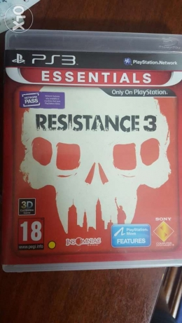 Resistance 3 (PS3) for sale