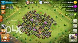 Clash of clans, Th8 max troops and deffence bse3er rkhiis ktiir 7koune