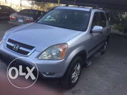 Honda CR-V model 2002 EX