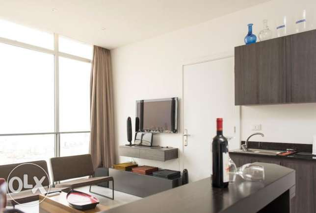 Fully furnished 1 bedroom apartment for rent in Mar Michael seaside