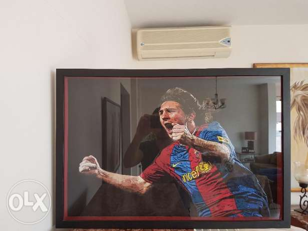 Messi Picture Frame