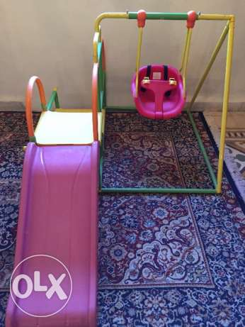Slide & swing for kids