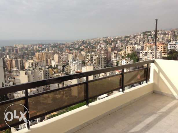 Appartment for rent in bsalim mezher with sea view