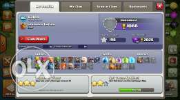 Clash of clans account level 86