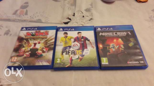 Ps4 games DVD