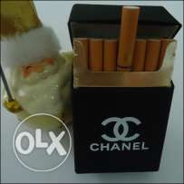 CHANEL rubber cigarette case