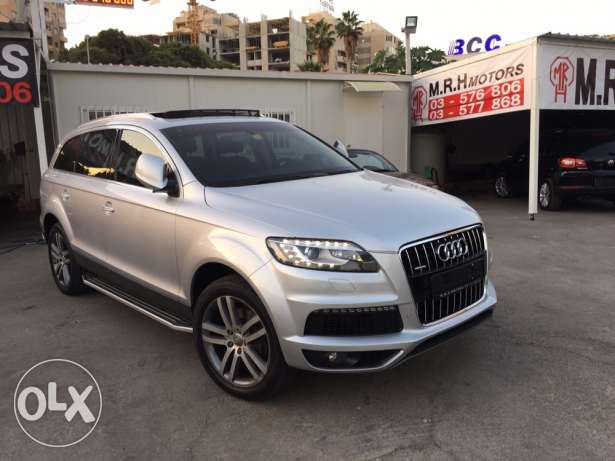 Audi Q7 2008 Silver Premium Package with Facelift Like New! بوشرية -  1