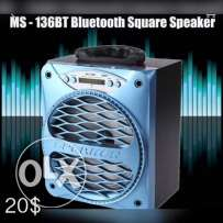 New MS-136BT Large Output Portable Mini Wireless Bluetooth
