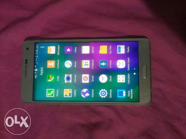 Samsung galaxy a7 (gold) بشامون -  2