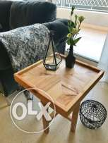 Two Sylish Wooden side table, hand-crafted