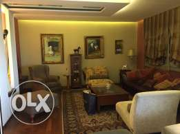 Furnished apartment 200m2 for rent in Hazmieh