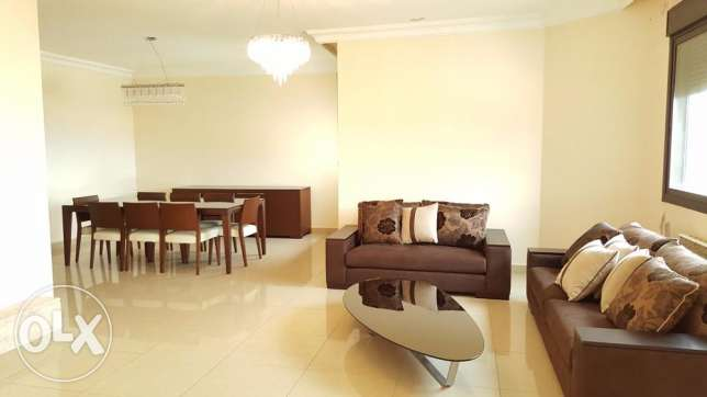 Semi- Furnished Apartment for Rent in Rabieh