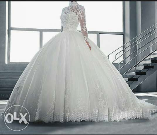 New french wedding dress