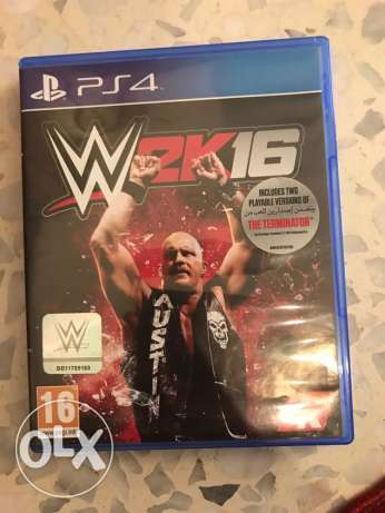 PS4-WWE2k16 for sale or trade بقنايا -  1