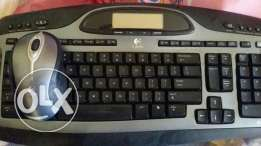 MX 5000 wireless multimedi keyboard and mouse