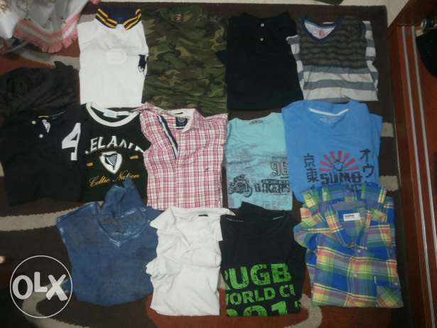 Used shirts and tshirts for sale