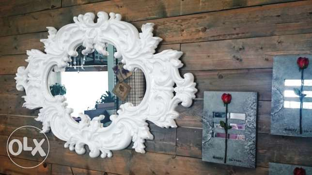 New Resin wall mirror (zouk mosbeh)