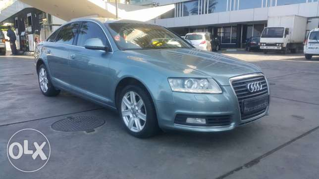 This car is the first! Audi A6/2010 European specs fully loaded