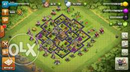 Clash of clans 8 full max