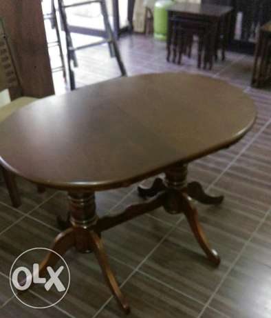 Dinning Table 80*120 collis btokbar betsir 160