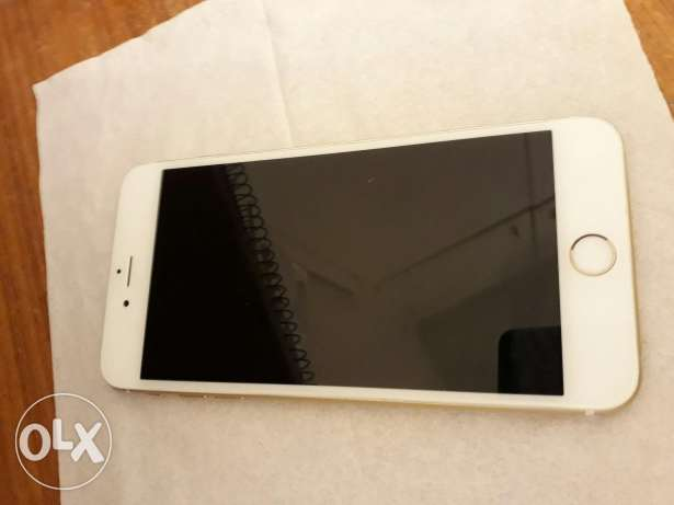 IPhone 6 plus 64 gold مصطبة -  1