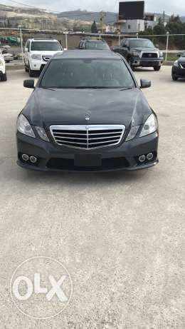 mercedes e350 look amg mod 2010 rear camera