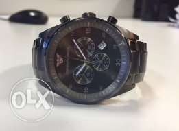 Brand new Greige Armani authentic with the warranty