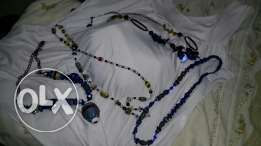 African handmade necklaces