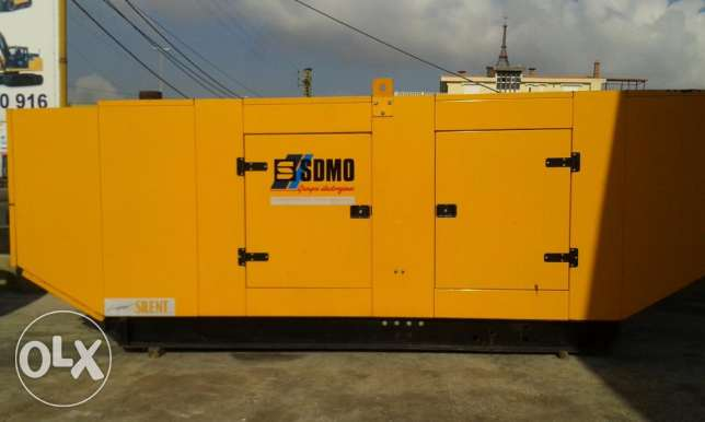 Volvo 400 kva generatorset supersilent 1232 reading hours 1000