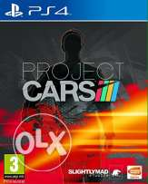 Any project cars ps4 for sale