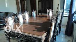 oak wood very old furniture in mint condition