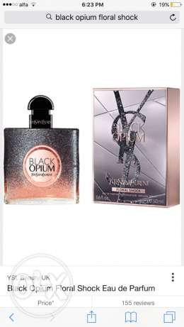 black opium parfum perfume for sale original unwanted gift
