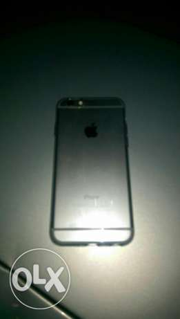 Iphone 6 silver 16 gb عزمي -  1