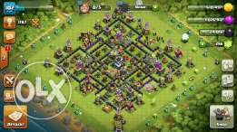 for sale clash of clans town hall 9 level 102