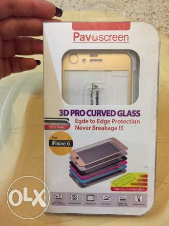 Pavoscreen 3D PRO GLASS PROTECTOR for iphone6 راس  بيروت -  1