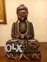 Big Handcrafted Buddha Statue