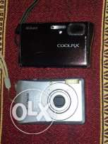 Camera Nikon coolpix 6.3 & Camera Canon IXUS 65 -Chargers & plugs