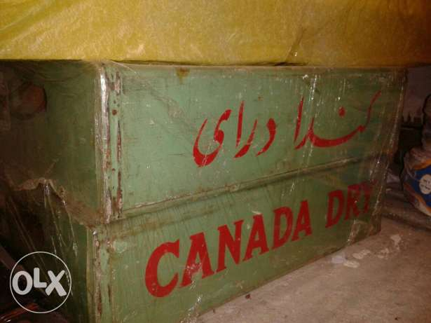 Old box canada dry