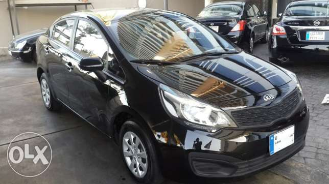 Kia Rio 2013 Tiptronic like New راس  بيروت -  8