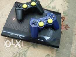 Ps3 500GB with 2 controllers for sale