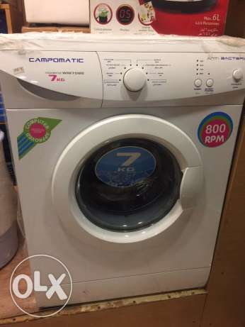 campomatic washer 7kg 1000 rpm NEW