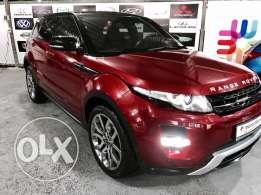 Range rover Evoque Daynamic Plus