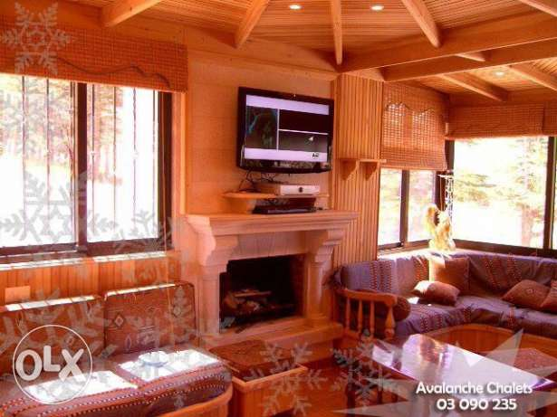 Avalanche Chalets - Chalet for Rent at Cedars-Al arz بشري -  2