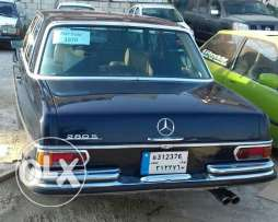 mercedes 280s clean car model 1970 4 doors