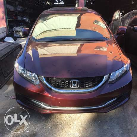honda civic 2013 النبطية -  1