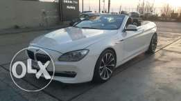 BMW 640/Convertible 2011 fully loaded مصدر الشركه no accidents super a