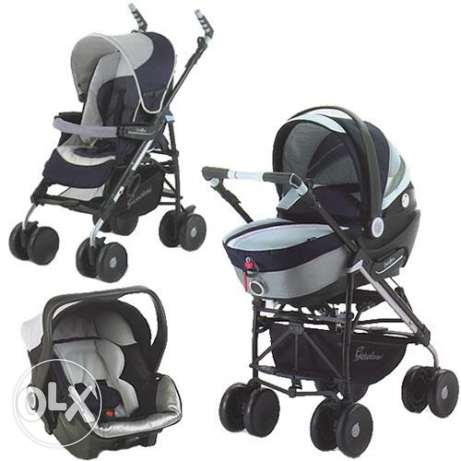 Trio Set (Stroller, Baby Carrier & Car Seat)